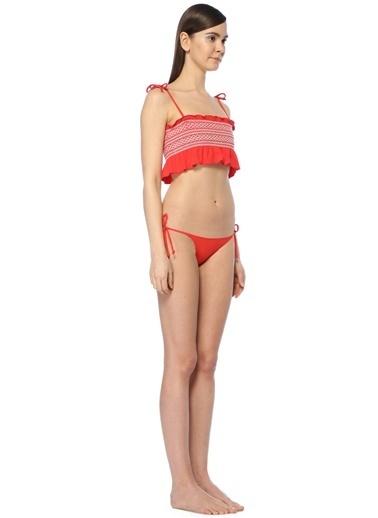 Lisa Marie Fernandez Bikini Kırmızı